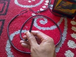 lepas genset 2 300x225 - Genset Listrik Mini Portable Untuk Lampu